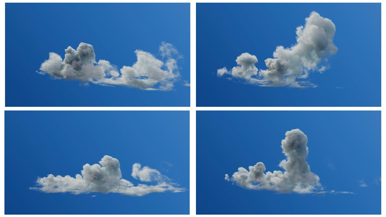Pixel Lab VDB Clouds Pack 4 - Animated