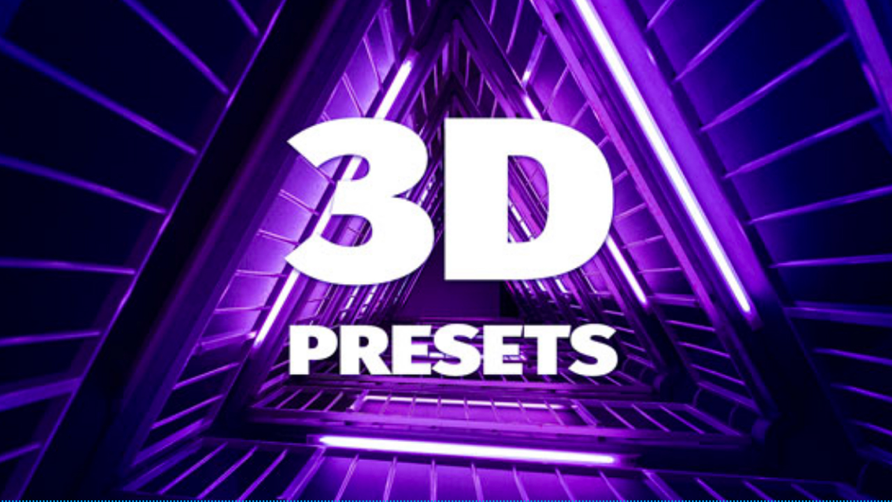 AEJuice 3D Animation Presets
