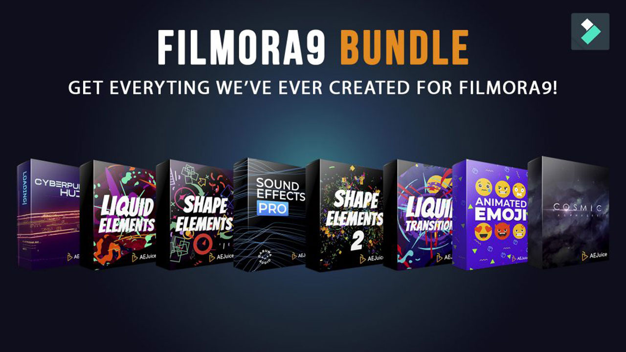 AEJuice Filmora9 Bundle
