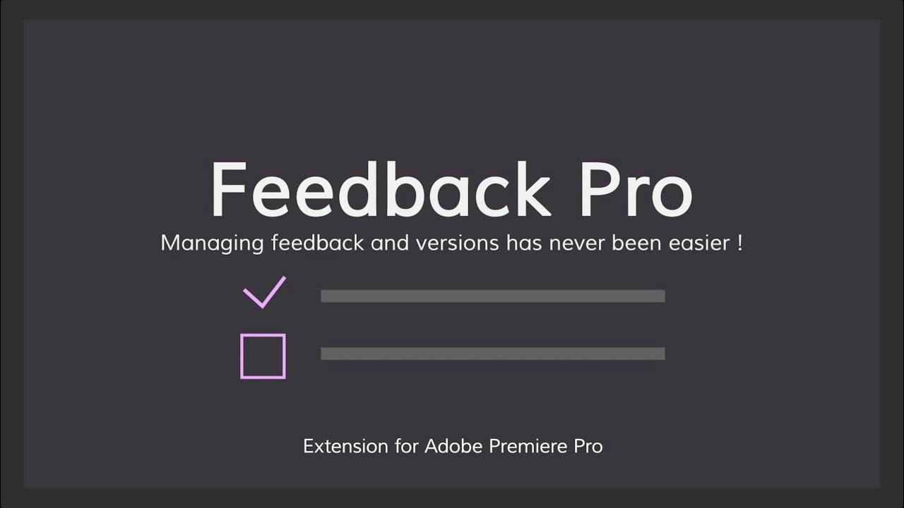 AlexLaur Feedback Pro