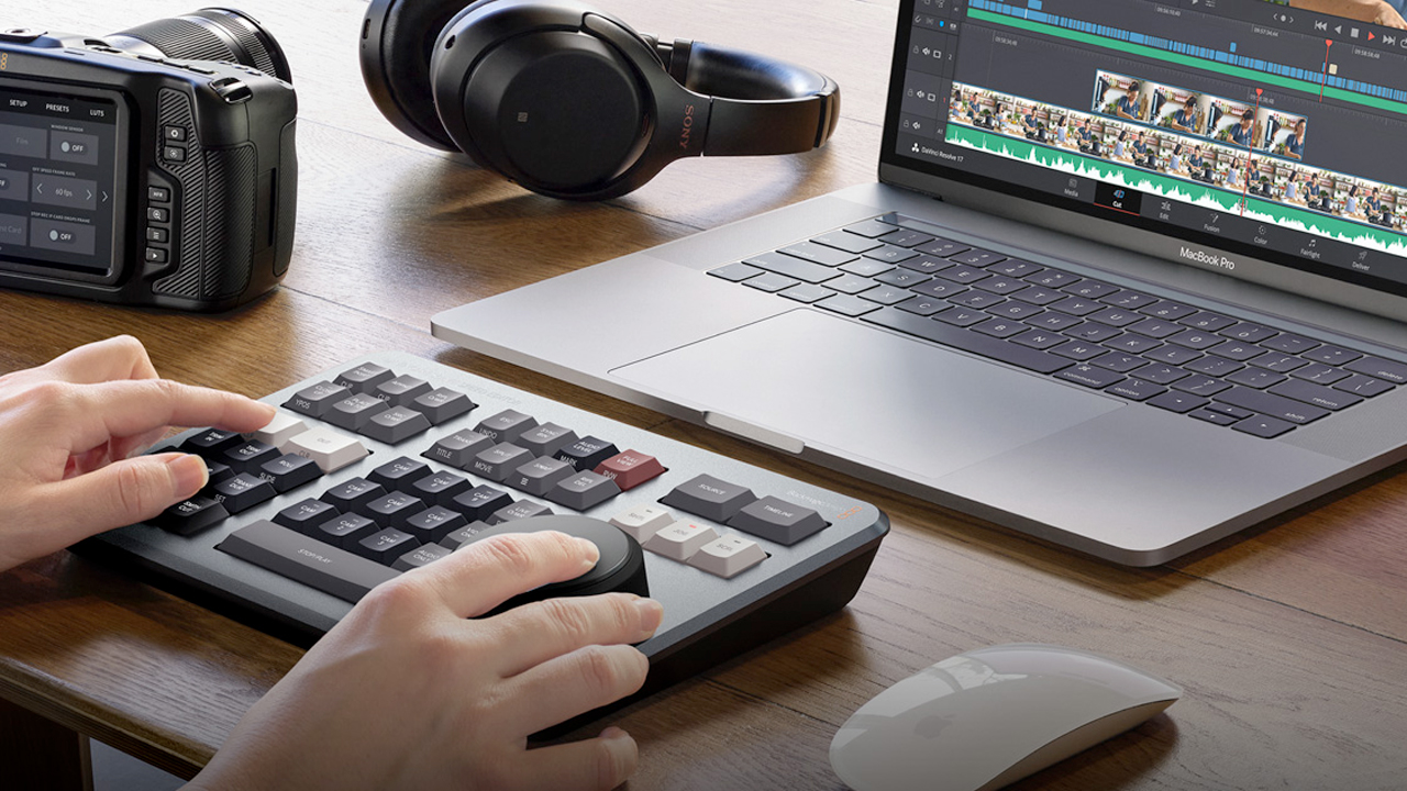 DaVinci Resolve Speed Editor Keyboard
