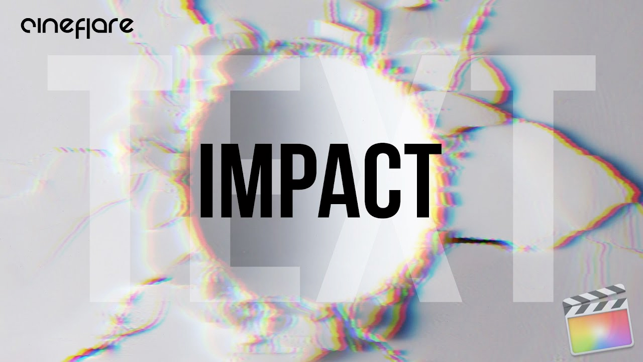 Cineflare Impact Text