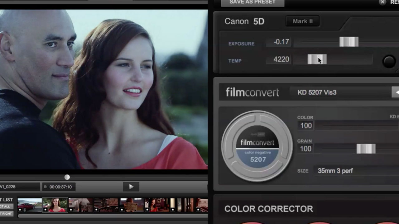 FilmConvert Nitrate for FCPX