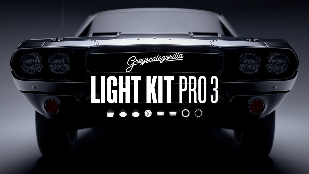 Greyscalegorilla Light Kit Pro for CINEMA 4D
