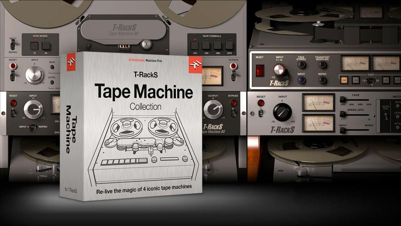 IK Multimedia T-RackS Tape Machine Collection