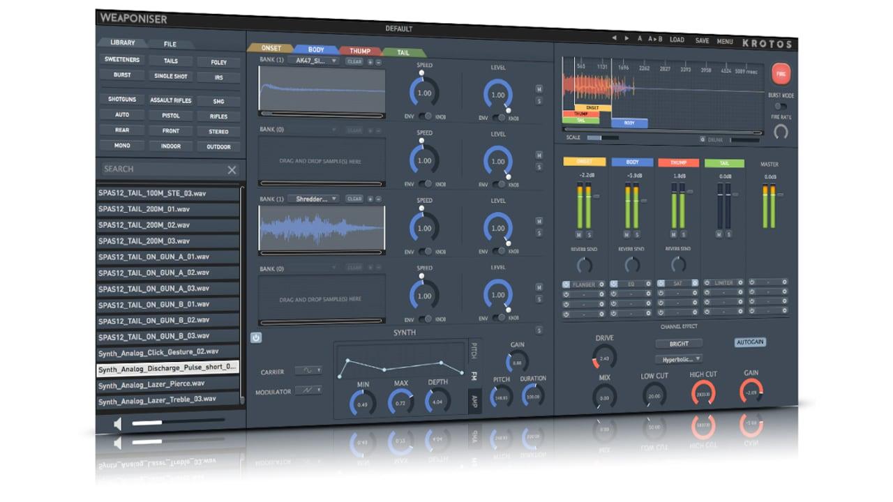 Krotos Audio Weaponiser Basic