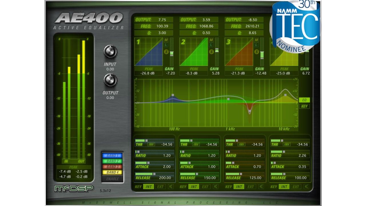 McDSP AE400 Active EQ