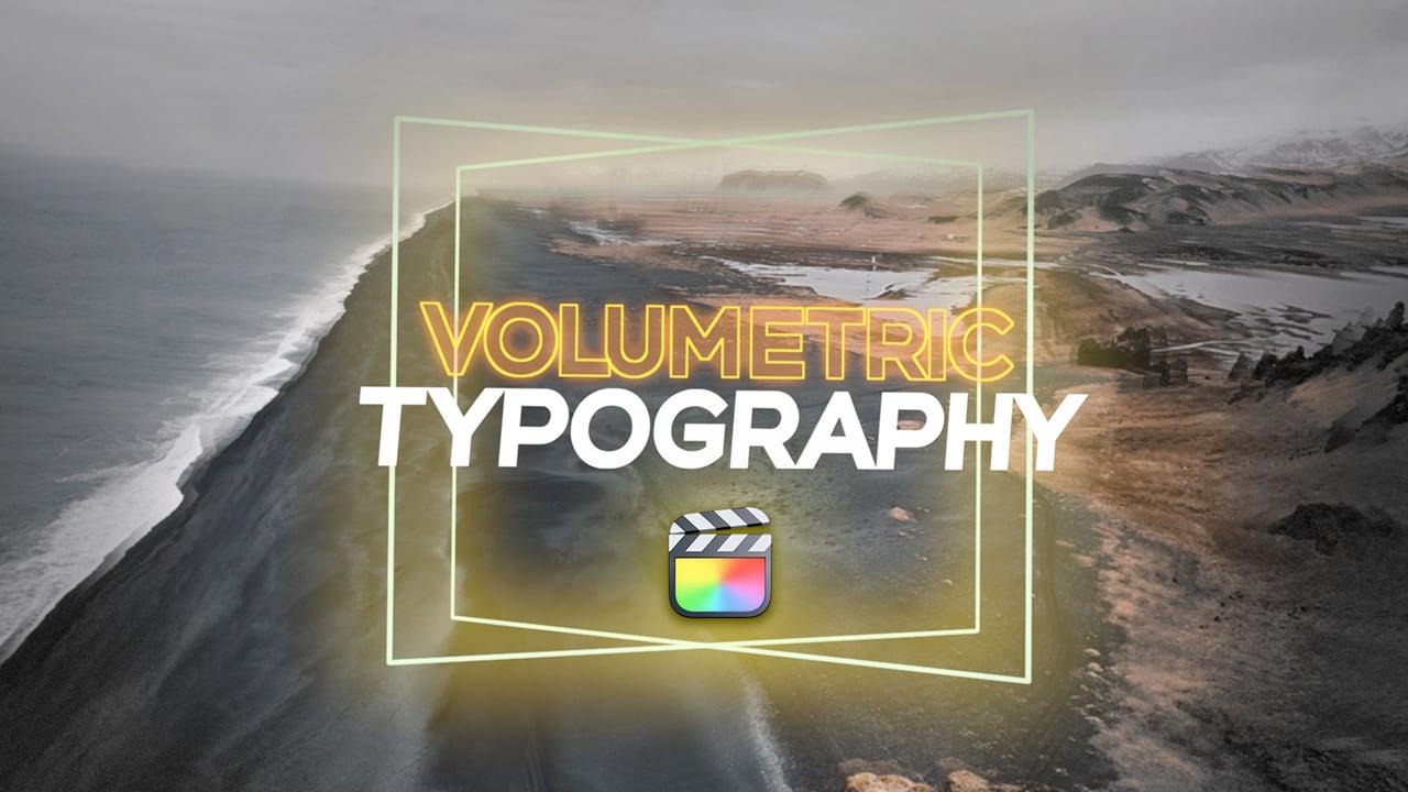 omotion Volumetric Typography
