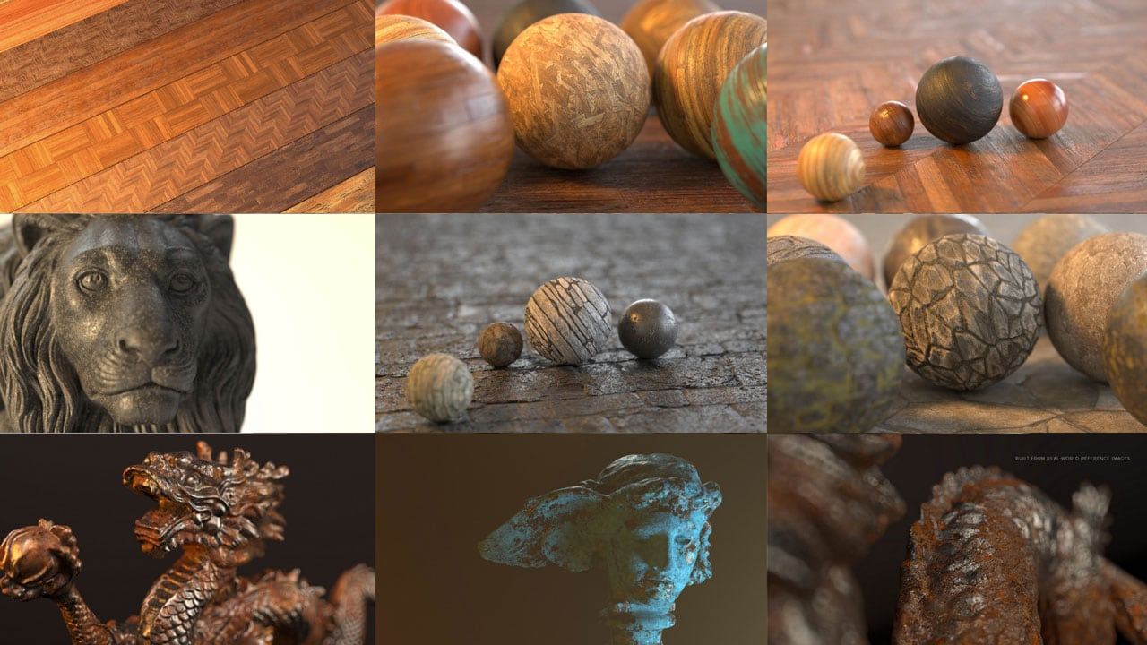 Pixel Lab Redshift Mutating Materials Bundle