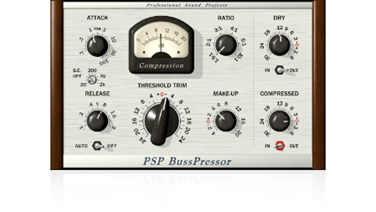 PSPaudioware PSP BussPressor