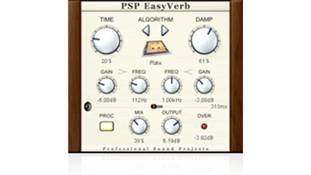 PSPaudioware PSP EasyVerb