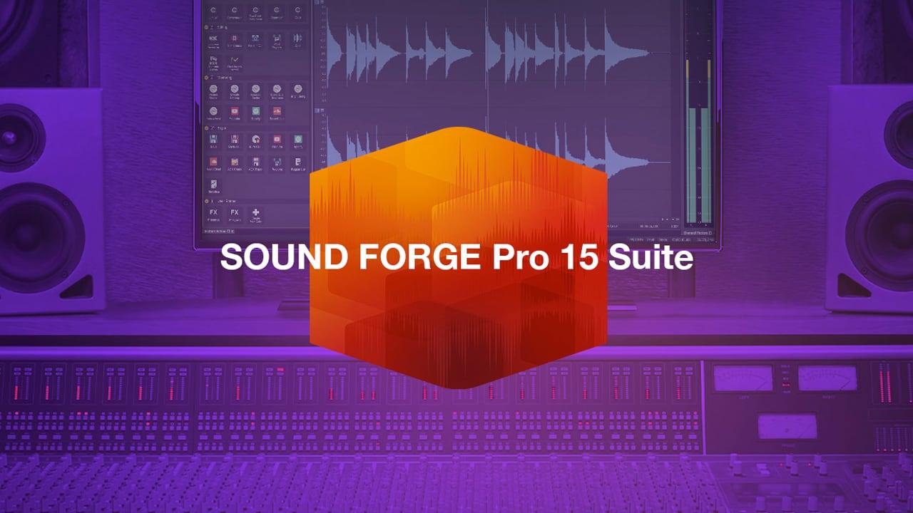 Magix SOUND FORGE Pro 15 Suite