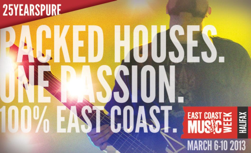 East Coast Music Week 2013 Call for Volunteers