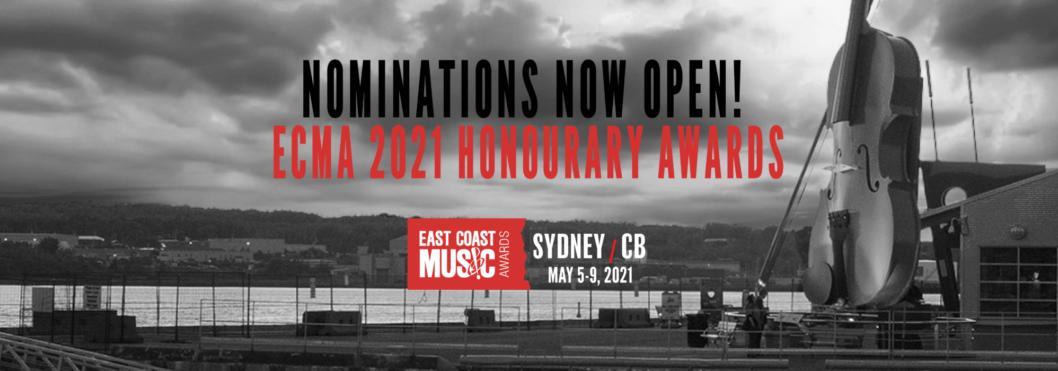 ECMA 2021 Honourary Awards Nominations Open!