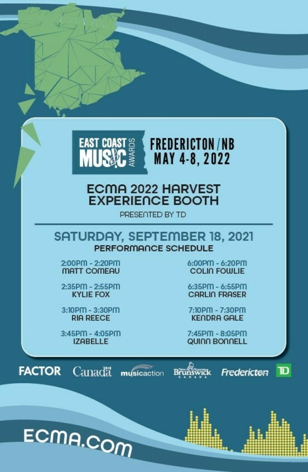 ECMA at Harvest Music Festival!