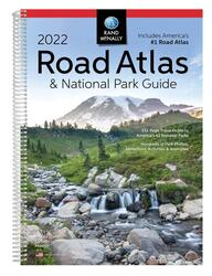 2022 Road Atlas and National Park Guide by Rand McNally