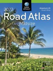 US,  Canada and Mexico, 2022 Midsize Road Atlas by Rand McNally