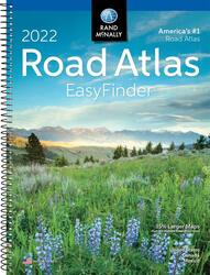 2022 Midsize Easy Finder Road Atlas by Rand McNally