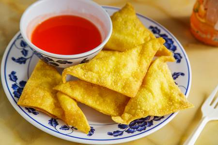 10. Crab Rangoon (6) from A8 China in Madison, WI