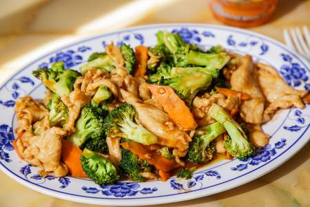 C19. Lunch Chicken with Broccoli from A8 China in Madison, WI