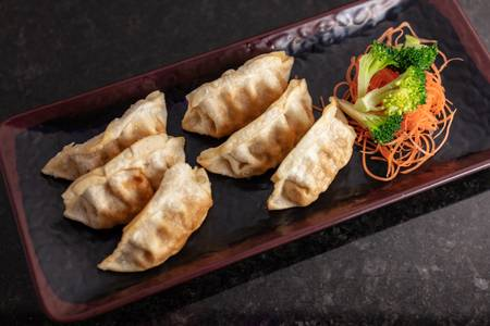 Gyoza from Akame Sushi in Eau Claire, WI