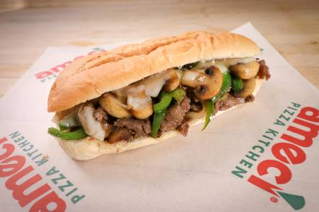 Philly Cheese Steak Sandwich from Ameci Pizza & Pasta - Irvine in Irvine, CA