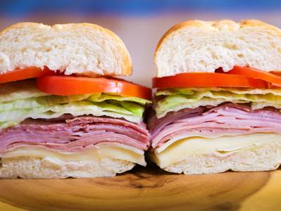 Cold Cut Sandwich (Lunch) from Ameci Pizza & Pasta - Lake Forest in Lake Forest, CA