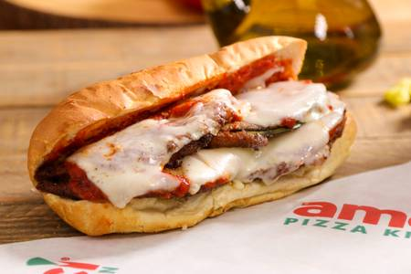 Eggplant Parmigiana Sandwich from Ameci Pizza & Pasta - Lake Forest in Lake Forest, CA