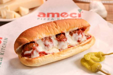 Meatball Sandwich with Cheese (Lunch) from Ameci Pizza & Pasta - Lake Forest in Lake Forest, CA