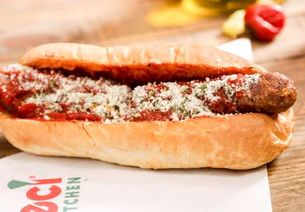 Sausage & Pepper Sandwich (Lunch) from Ameci Pizza & Pasta - Lake Forest in Lake Forest, CA