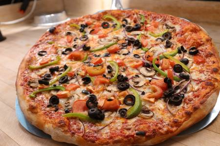 Veggie Pizza from Ameci Pizza & Pasta - Lake Forest in Lake Forest, CA