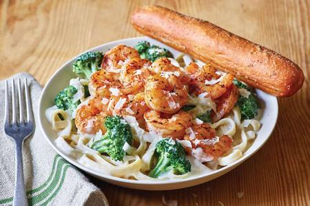 Classic Broccoli Blackened Shrimp Alfredo from Applebee's - Green Bay West in Green Bay, WI