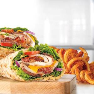 Market Fresh Chicken Club Wrap Meal from Arby's - 1014 in Green Bay, WI