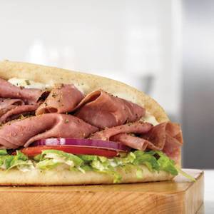 Roast Beef Gyro from Arby's - 1014 in Green Bay, WI