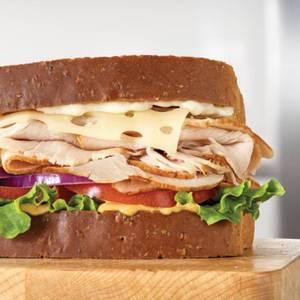 Roast Turkey & Swiss Sandwich from Arby's - 1014 in Green Bay, WI