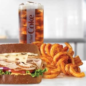 Roast Turkey & Swiss Sandwich Meal from Arby's - 1014 in Green Bay, WI
