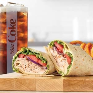 Roast Turkey & Swiss Wrap Meal from Arby's - 1014 in Green Bay, WI