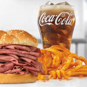 Double Roast Beef Meal from Arby's - Eau Claire Hendrickson Dr (1958) in Eau Claire, WI