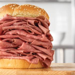 Half Pound Roast Beef from Arby's - Eau Claire Hendrickson Dr (1958) in Eau Claire, WI