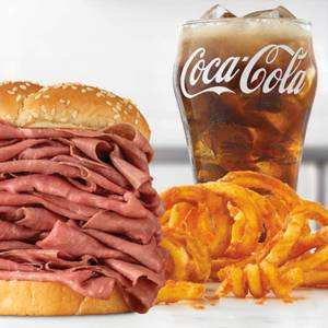 Half Pound Roast Beef Meal from Arby's - 423 in Green Bay, WI