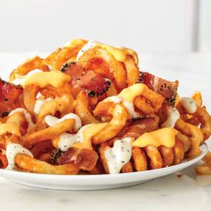 Loaded Curly Fries from Arby's - Appleton W Wisconsin Ave (5020) in Appleton, WI