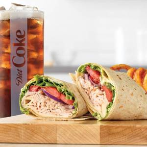 Roast Turkey & Swiss Wrap Meal from Arby's - Appleton W Wisconsin Ave (5020) in Appleton, WI