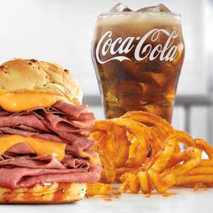 Half Pound Beef 'n Cheddar Meal from Arby's - Appleton W Northland Ave (7270) in Appleton, WI