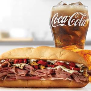 Fire-Roasted Philly Roast Beef Meal from Arby's - Neenah Westowne Dr (7638) in Neenah, WI