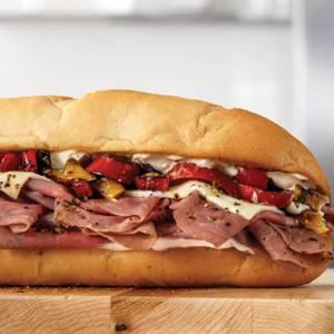Fire-Roasted Philly Roast Beef from Arby's - 8545 in Green Bay, WI