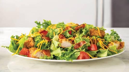 Crispy Chicken Farmhouse Salad from Arby's - De Pere Lawrence Dr (7164) in De Pere, WI