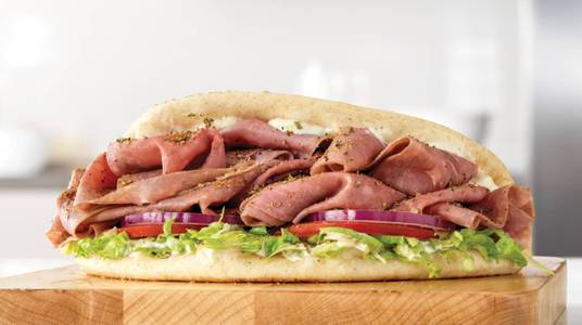 Roast Beef Gyro from Arby's - De Pere Lawrence Dr (7164) in De Pere, WI