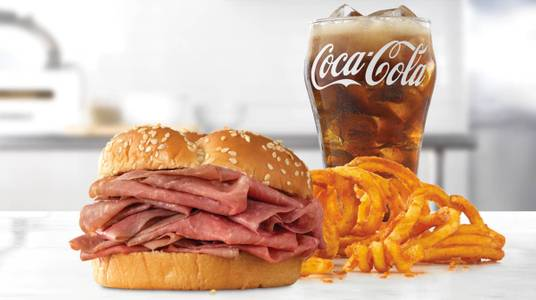Classic Roast Beef Meal from Arby's - 8591 in De Pere, WI