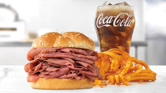 Double Roast Beef Meal from Arby's - 8591 in De Pere, WI