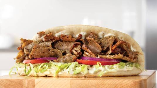 Traditional Greek Gyro from Arby's - De Pere Monroe Rd (8591) in De Pere, WI